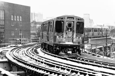 BW CTA Kimball train