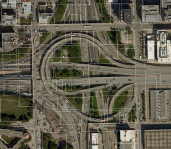 Jane Byrne Interchange in the West Loop